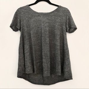 A&F T-Shirt With Back Detail